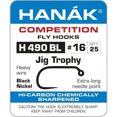Muharski trnki HANAK 490 BL Jig Trophy 25 kos | #12