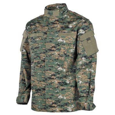 Jakna | bluzon MFH US Field Jacket ACU, Rip Stop, digital woodland | L