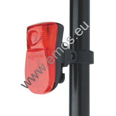 Kolesarska svetilka | LED Svetilka za kolo 1LED 2xAAA zadnja