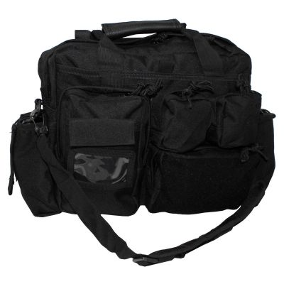 Taktična torba MFH Operations Bag, black, with carrying straps | 30007A
