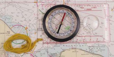 Kompas za na zemljevid Karten-Kompass   34203