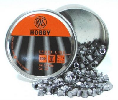 Metki za zračno puško / diabole RWS Hobby 4.5 mm (500 kos)