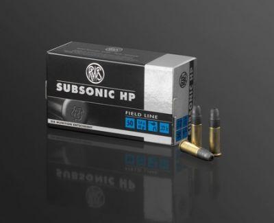 Strelivo rws .22lfB Subsonic