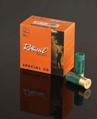 Šiberno strelivo rtw special 36 12/70 4,0 mm, zelena UM (25 kosov)