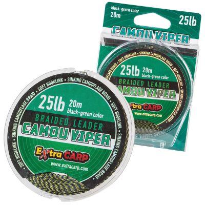 Vrvica za naveze EXTRA CARP CAMOU VIPER 25lb | black/green