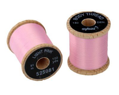 Nit za vezavo muh SYBAI Body Thread | Light Pink