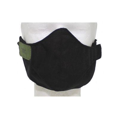 Airsoft zaščitna maska za zobe MFH Mundschutzmaske, schwarz, 2-teilig   10625A