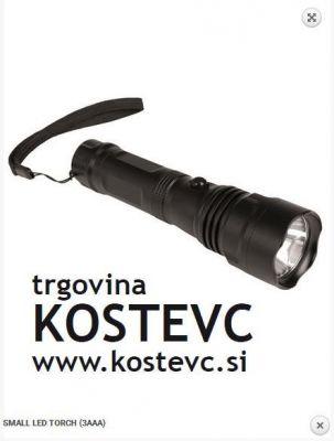 Ročna LED svetilka MIL-TEC SMALL LED TORCH (3AAA)
