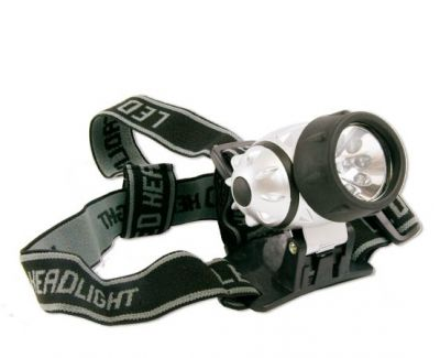 Naglavna LED svetilka 7 LED HEADLIGHT