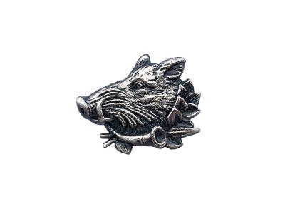 Kovinska lovska značka figura | divji prašič