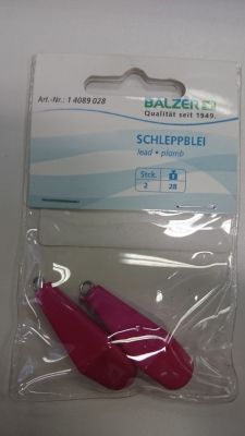 Utež | svinec za morski ribolov Balzer SCHLEPPBLEI 21g (2 kos)