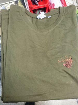 Lovska majica kratek rokav - t-shirt JELEN | XXL