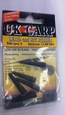 Gumice za krapolov CORMORAN UK CARP LEAD and RIG RUBBER - 5 kos | 11-04 063