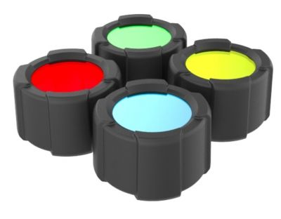 Set barvnih filtrov Led Lenser COLOR FILTER SET 39 mm | Led Lenser MT14
