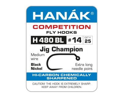Muharski trnki HANAK 480 BL Czech Jig Champion 25 kos   #12