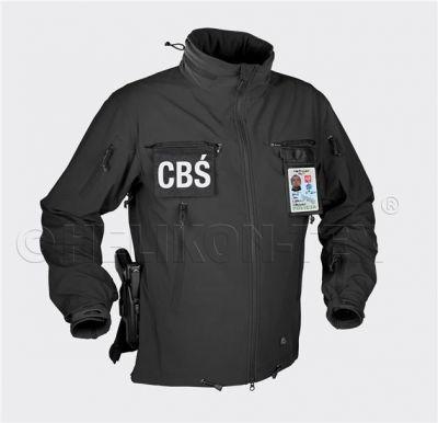 Softshell jakna HELIKON TEX COUGAR® QSA™ + HID™ Jacket - Soft Shell Windblocker - črna | S