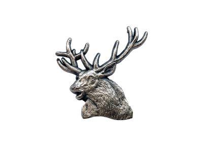Kovinska lovska značka figura | jelen