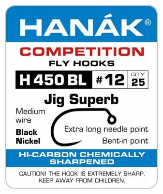 Muharski trnki HANAK 450 BL Czech Jig Special 25 kos | #12