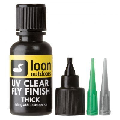 UV nanos Loon Outdoors UV CLEAR FLY FINISH THICK | debel