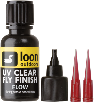 Tanek UV gel Loon Outdoors UV CLEAR FLY FINISH FLOW | tekoč