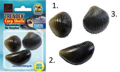Vaba za krapolov školjka behr RedCarp TRENDEX Carp Shells - Multi-Set 4 | 90 -725 99