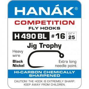 Muharski trnki HANAK 490 BL Jig Trophy 25 kos | #10