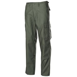 Hlače MFH US Combat Pants, BDU, OD green, fashion type | olivno zelene