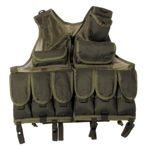 Taktični telovnik MFH Tactical Vest, mesh, OD-green, size-adjustable | 04553B