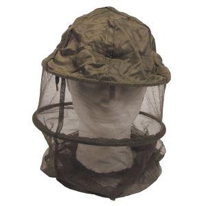 Zaščita - mreža proti komarjem MFH Mosquito Head Net, OD green, w/metal ring | 10467