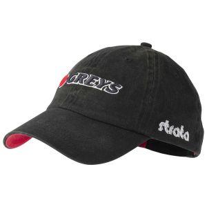 Muharska kapa GREYS Fin 3D Logo Cap Black | 1374091