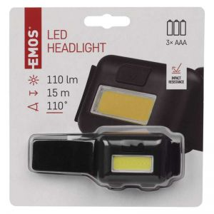 Čelka | naglavna LED svetilka 1W COB (P3537)