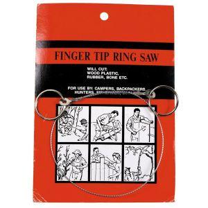 Žaga iz žice - žičnata žaga MFH Wire Saw with rings | 27083