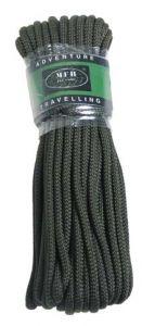 Pletena vrv MFH Rope 5 mm - olivna (15 m)