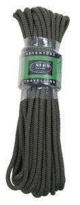 Pletena vrv MFH Rope 7 mm - olivna (15 m)