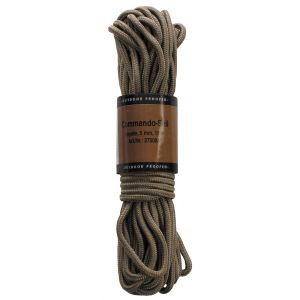 Pletena vrv MFH Rope, coyote, 5mm, 15 m