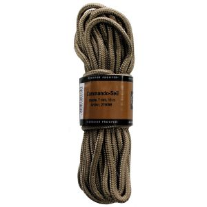 Pletena vrv MFH Rope, coyote, 7mm, 15 m