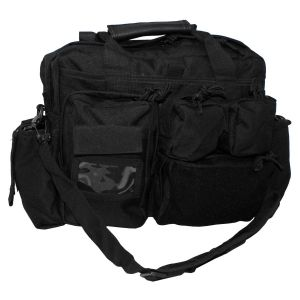 Taktična torba MFH Operations Bag, black, with carrying straps   30007A