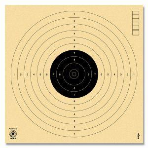 Strelska tarča za zračne pištole na 10 m 17×17 cm