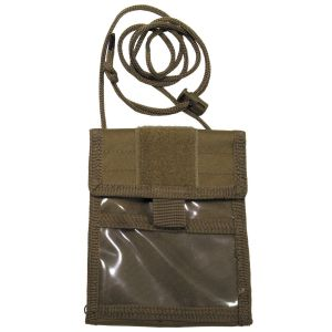 Torbica za ID izkaznico MFH ID Holder, coyote tan, folding | 30930R