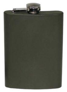 Prisrčnica MFH Flachmann Edelstahl oliv 225 ml | 33275A