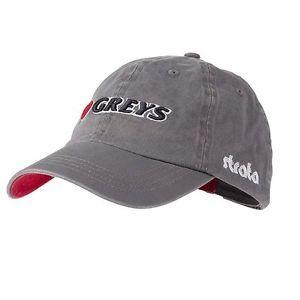Muharska kapa GREYS Fin 3D Cap Grey | 1374090