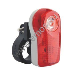 Kolesarska svetilka | LED Svetilka za kolo 3LED 2xAAA zadnja