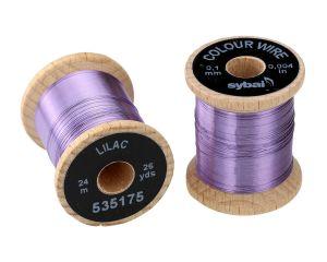 Žica za povijanje muh SYBAI Colour Wire, 0.1 mm, Lilac