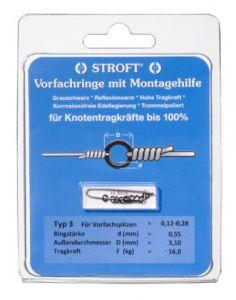 STROFT rinke ~ obročki za muharske predvrvice Typ 1
