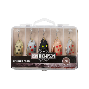 Komplet blinkerjev za lov roparic RON THOMPSON SPINNER PACK INC. BOX 5 PCS 7G  | 61436