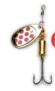 Blestivka | blinker behr Trendex Cyber Spin #3 8g - srebrn in rdeče pike