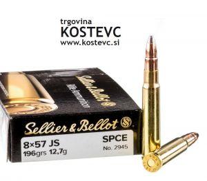 Strelivo   naboji Sellier & Bellot 8x57JS SPCE 12.7g