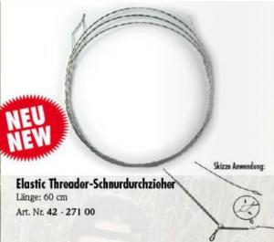 Žica za pretikanje laksa preko cevke behr RedCarp ELASTIC THREADER 60 cm | 42 - 271 00