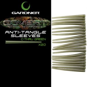 Gumice za krapolov Gardner Covert Anti-Tangle Sleeves | C-Thru Green