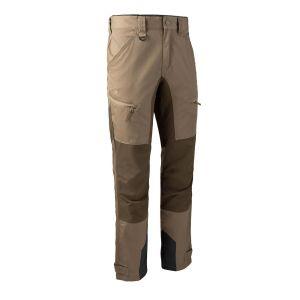 Elastične hlače Deerhunter Rogaland Stretch Trousers with contrast 3771 | Driftwood (269)